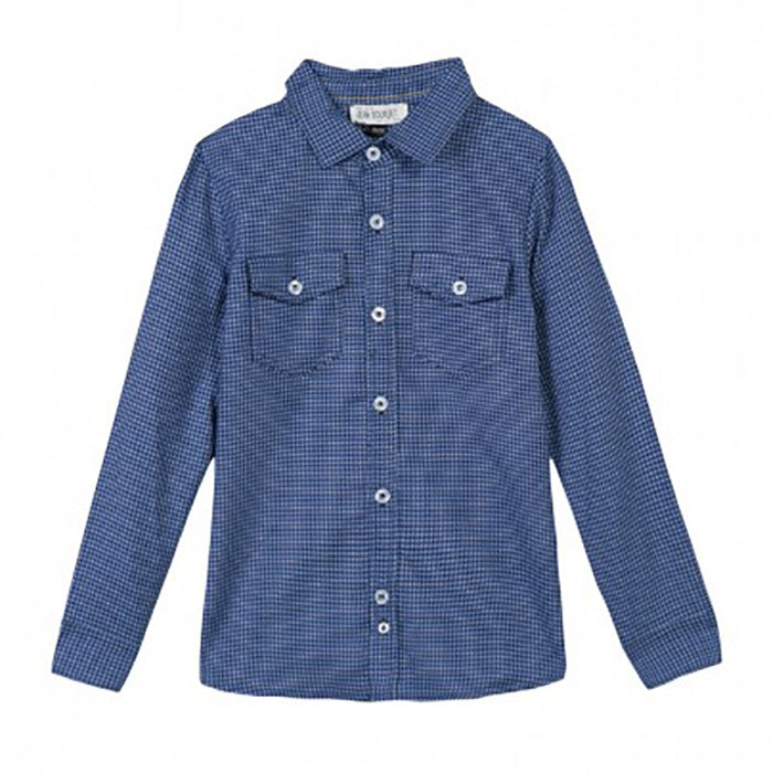Jean Bourget Marine Pattern Boy Shirt FW16