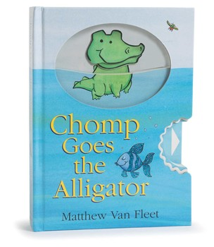 Simon & Schuster Chomp Goes The Alligator