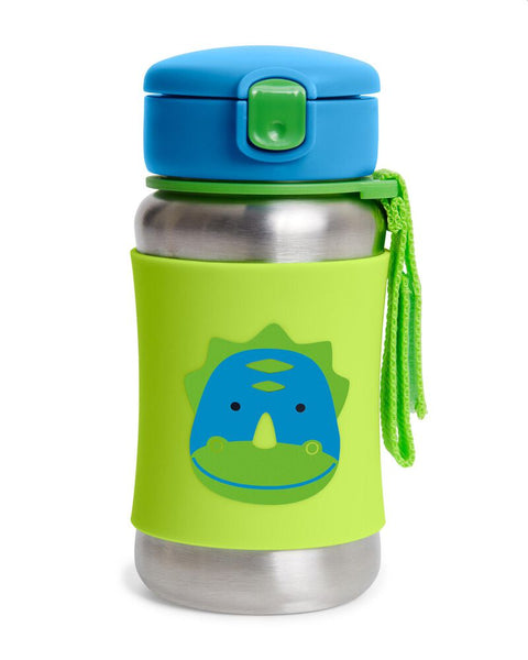 Skip Hop Zoo SS Straw Bottle - Dino