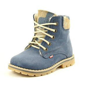 Emel Winter Blue Ankle Boots