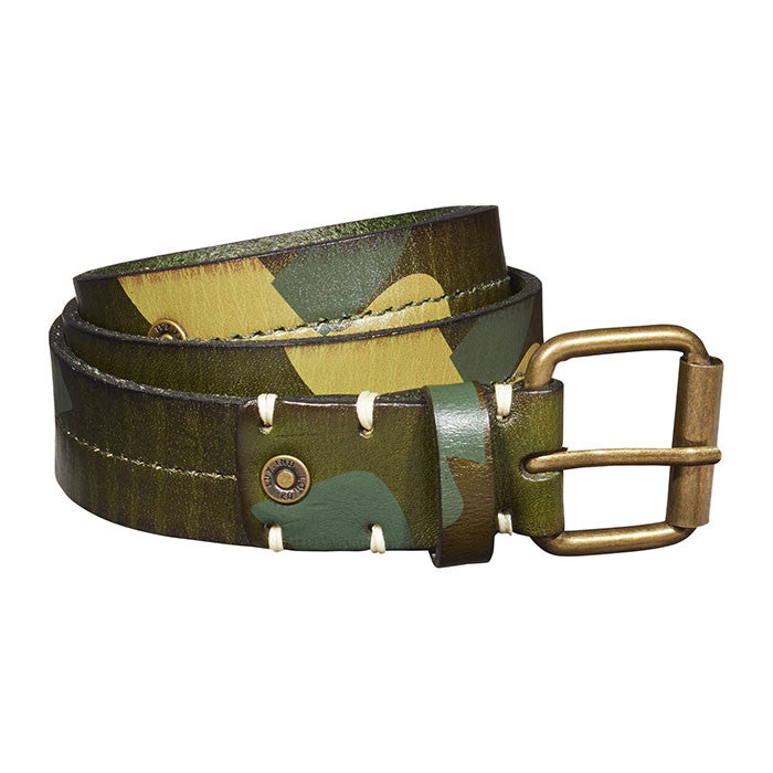 Scotch & Soda Camouflage Leather Belt