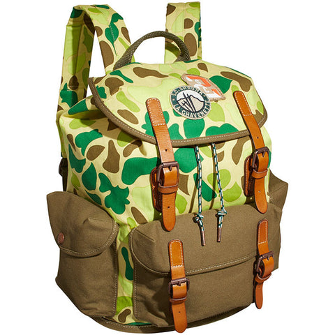 Scotch & Soda Camouflage Backpack