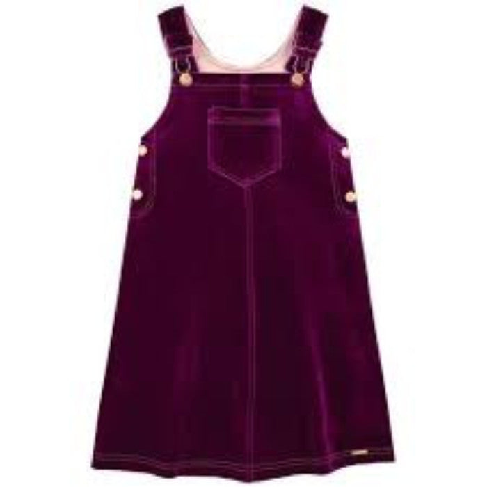 Junior Gaultier Dark Purple Dress FW16
