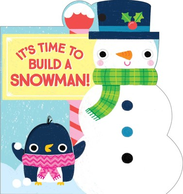 Simon & Schuster Book Ornament - It's Time to Build a Snowman