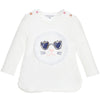 Little Marc Jacob Knitted White Top Kitty with Fancy Frange FW16