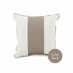 Oilo Band Pillow - Taupe (18x18)