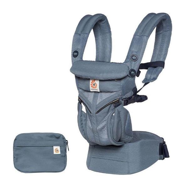Ergobaby Omni 360 Baby Carrier: Cool Air Mesh - Oxford Blue