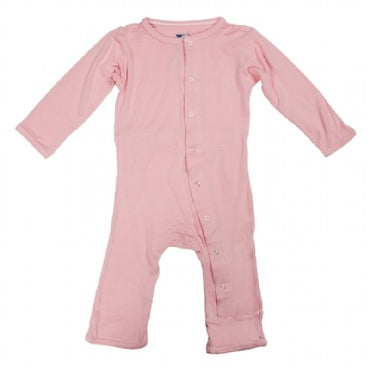 Kickee Pants Basic Coverall - Lotus