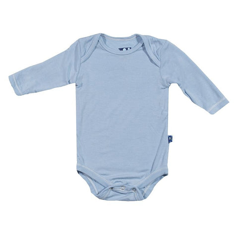 Kickee Pants Basic Long Sleeve One Piece Pond