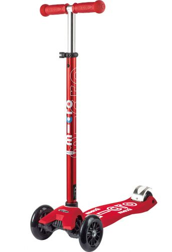 Micro Kickboard Maxi Deluxe Scooter - Red