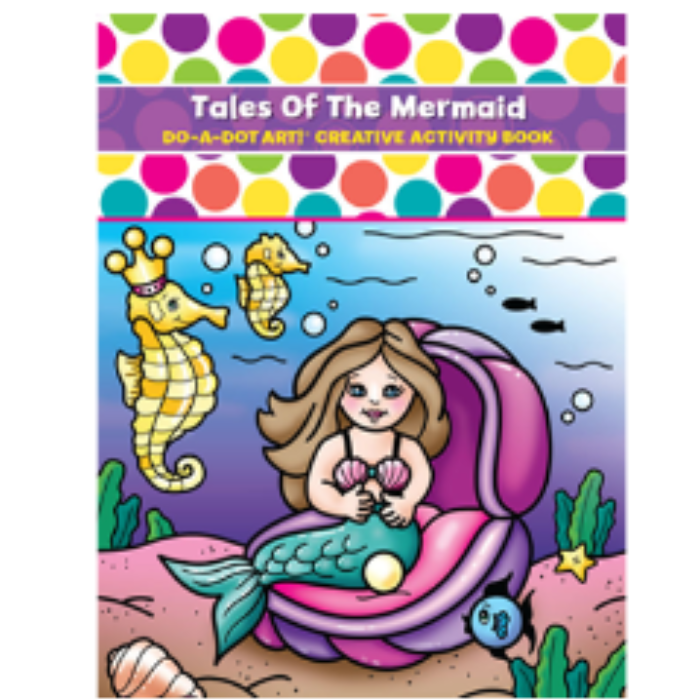 Do-A-Dot Art Book- Tales of The Mermaid