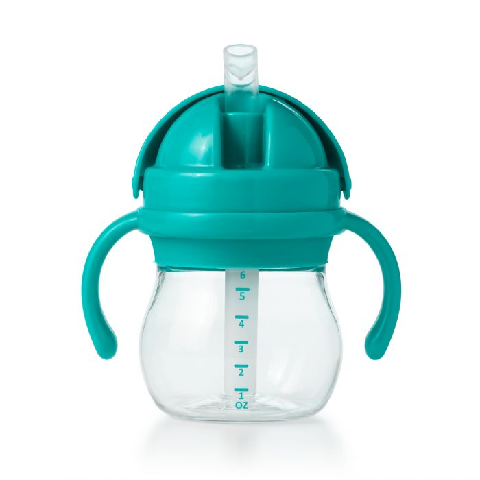 Oxo Tot Transitions Straw Cup w/Removable Handles 6oz - Teal