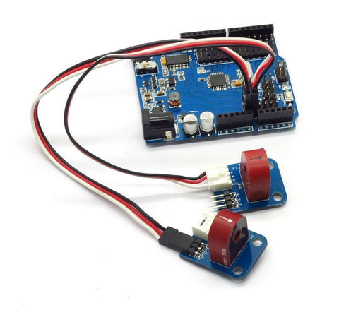 electricity meter AC current sensor 5A connected to arduino