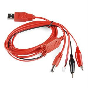 USB to Multi-Power Connectors Cable