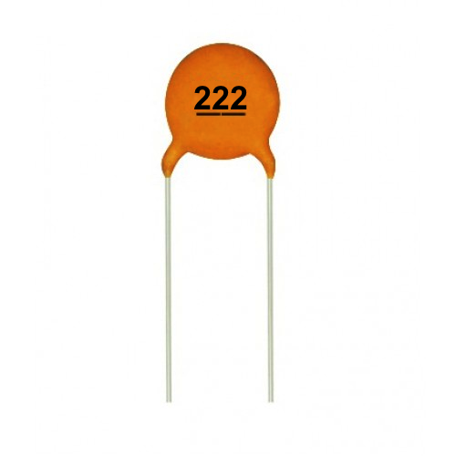 .0022uF 50V Ceramic Capacitors