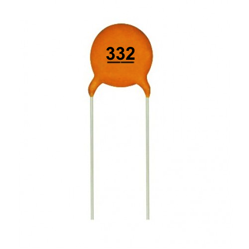.0033uF 50V Ceramic Capacitors