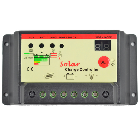 Solar Charge Controller Regulator 10A 12V/24V 240W