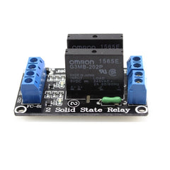 Solid State Relay Module  (2 Channels - 5V)