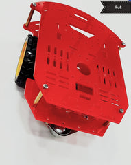 Robot Platform (2 Gear Motors + 2 Wheels + Castor)