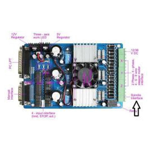 3 Axis Stepper Motor Driver (3.5 A)