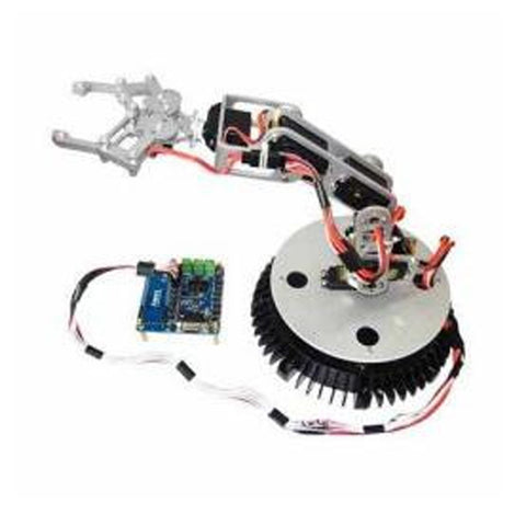 6DOF Robot Arm with Gripper and Controller