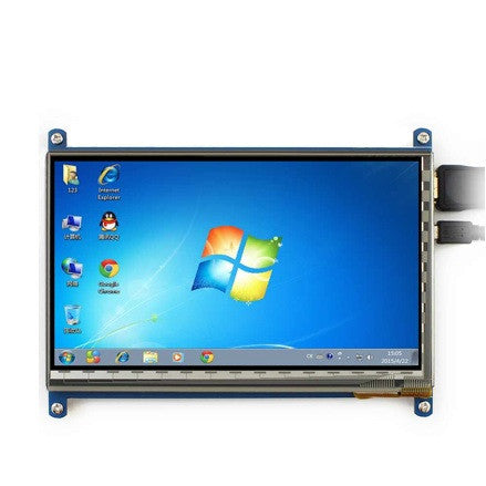 "7"" Digital HDMI Screen for Raspberry"