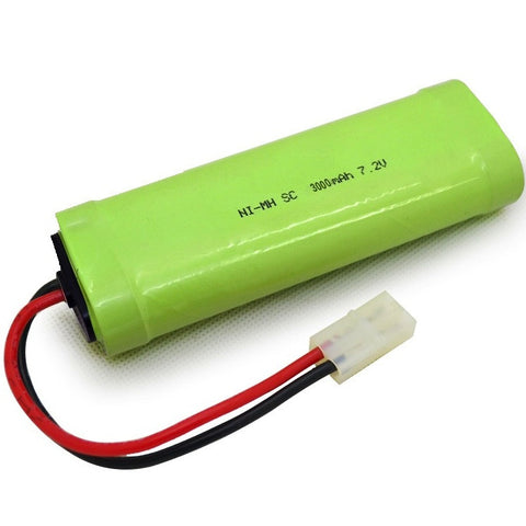 NiMH Rechargeable Battery (7.2V-3000mAh)