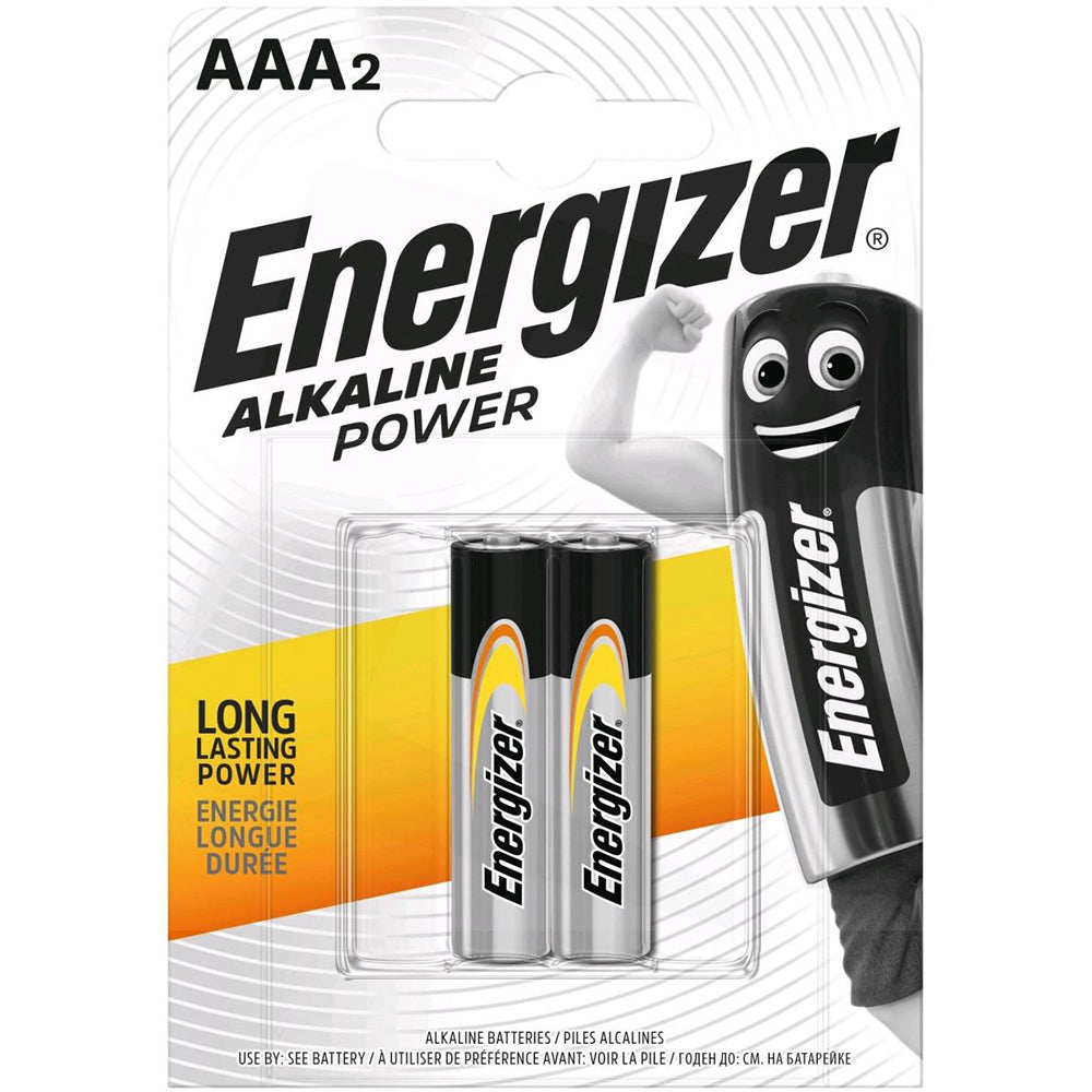 Energizer AAA2 Batteries (Pack of 2)