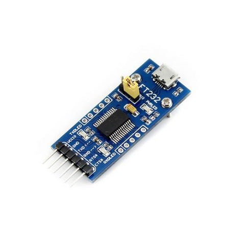 FTDI Board (Switchable 3.3 or 5V)