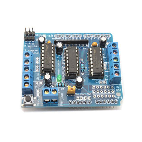 DC Motor/Stepper/Servo Driver Shield for Arduino
