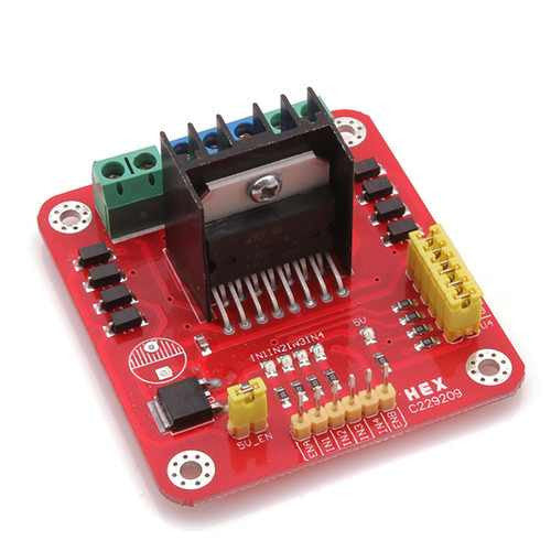 L298 Dual H-Bridge Motor Driver (DC and Stepper Motors)