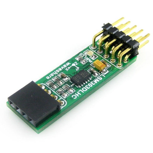 LSM303DLHC (3 Axis accelerometer + 3 Axis compass) Module