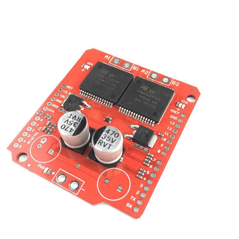 Dual VNH2SP30 DC Motor Driver 2x14A (Sparkfun Monster Moto Shield)