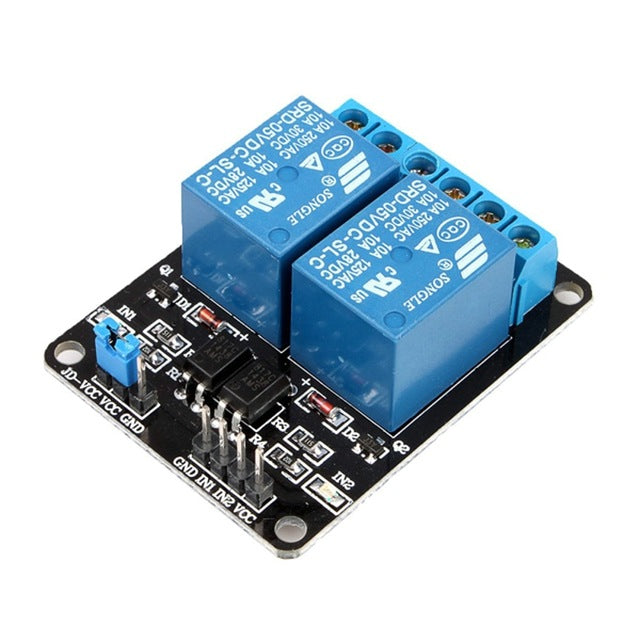 Relay Module for Arduino (2 Channels - 5V)