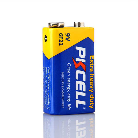 PkCELL 9 Volt Battery-6F22