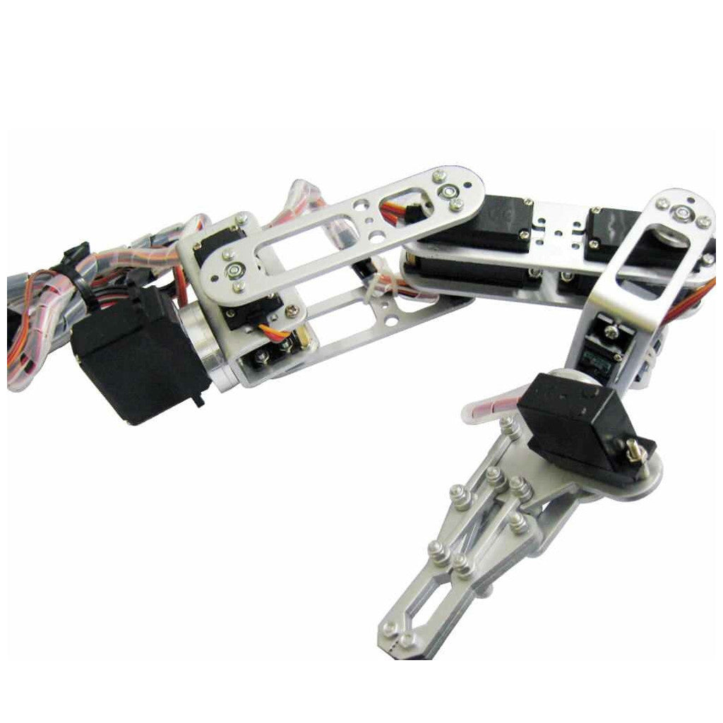 Portable 6DOF Arm with Gripper and Servos