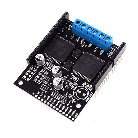 Dual VNH5019 DC Motor Driver (30A Peak - 12A Continuos)