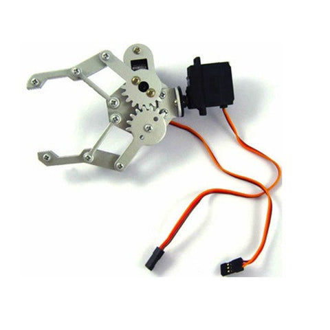 2 DOF Robot Arm with Gripper (13 cm)