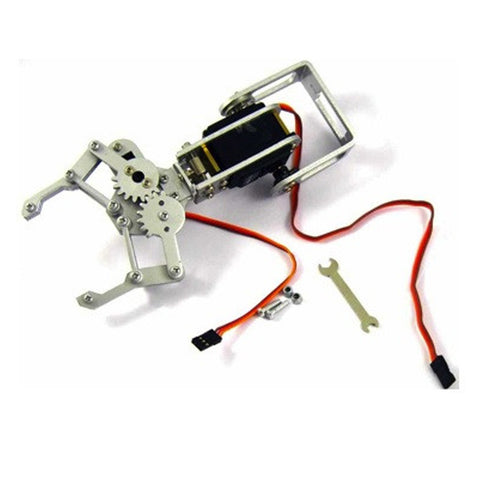 2 DOF Robot Arm with Gripper and Base
