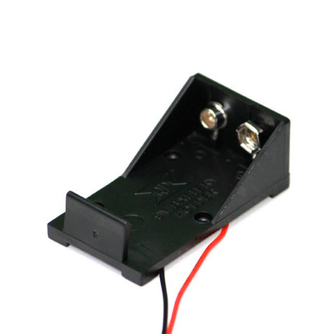 9V Battery Holder with Wire