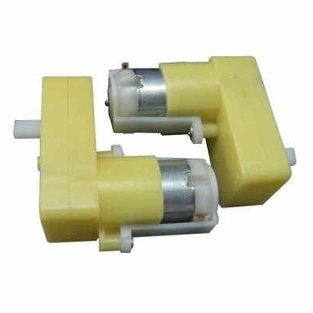 DC Geared Motors for Robots (90 Degree Shaft)