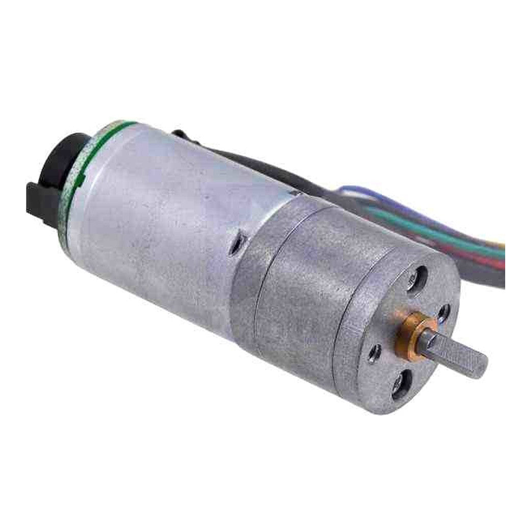 Dc motor with encoder 8 8 133 rpm 6 12v for Arduino encoder motor control