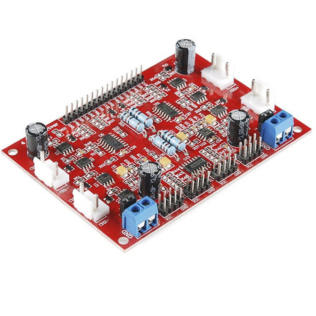 DC Motor Driver for Robot  4 channel