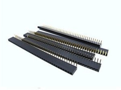Female Pin Headers Right Angle (2.54 mm-40 pin)