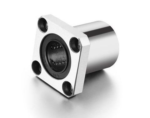 Flange Mounted Linear Bearing LMK12UU (12mm Dia)