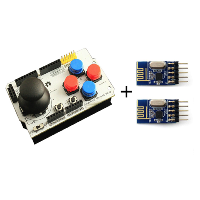 Wireless Joystick Shield Control Kit
