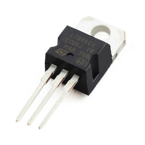 L7805CV Positive Voltage Regulator (5V -1A)