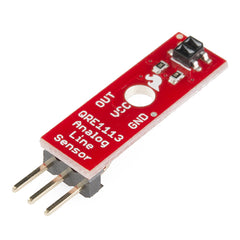 SparkFun RedBot Sensor - Line Follower (Analog - QRE1113 )