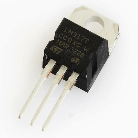 LM317T - 1.2V to 37V Adjustable Voltage Regulator