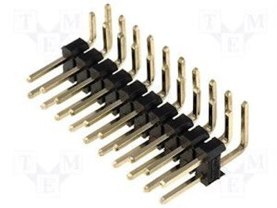 Male Pin Headers Two Rows Right Angle (2X40 pin)